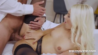 PRIVATE com – Sweet Young Helena Moeller Gets Anal Pounded By Older Cock!